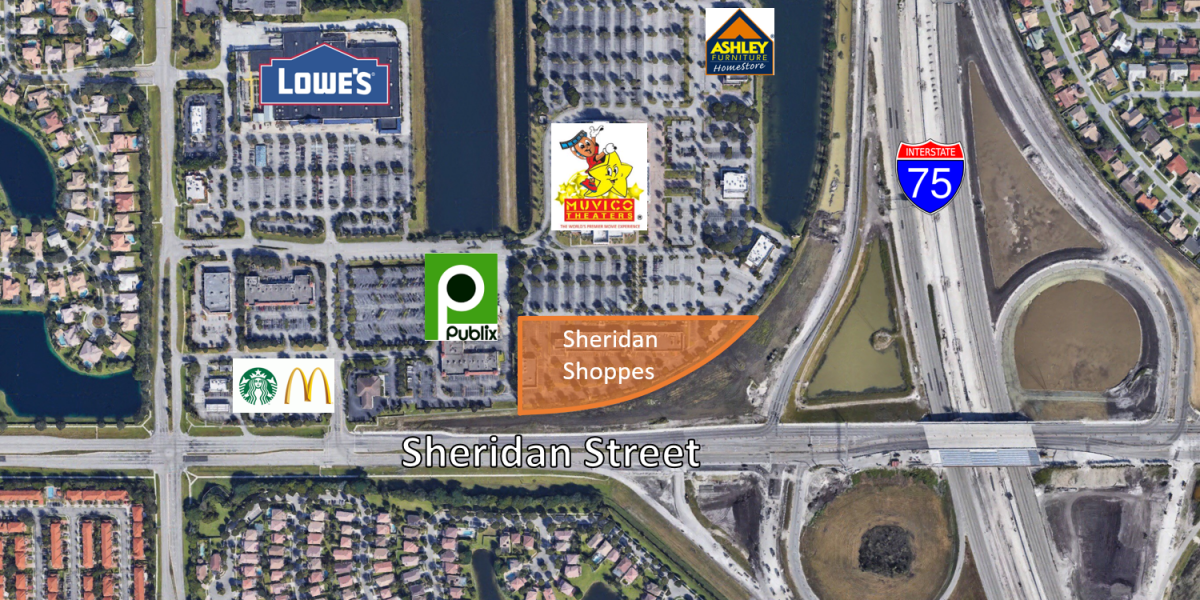 Sheridan Shoppes Finished